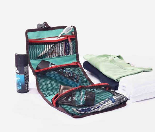 Inside of XSProject toiletry bag