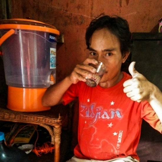 Water filters provide clean drinking water