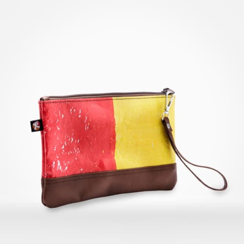 London clutch by XSProject made from recycled fused plastic