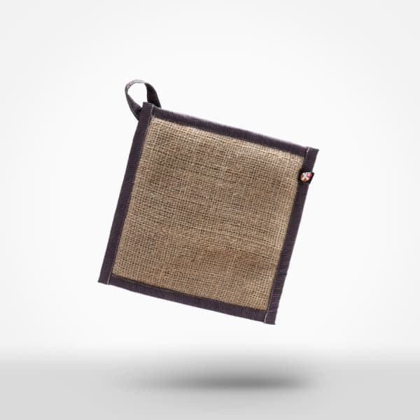 Heatpad by XSProject made from recycled coffee sacks