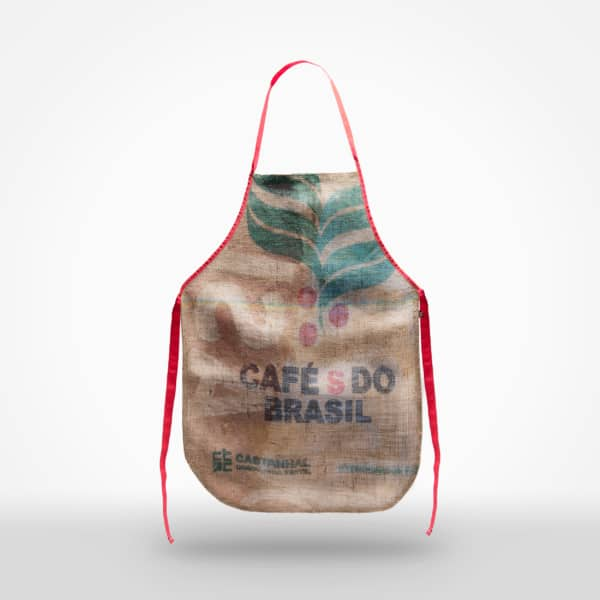 Hessian Apron by XSProject made from recycled coffee sacks