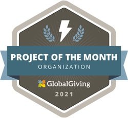 XSProject - selected as project of the month by Global Giving in 2021