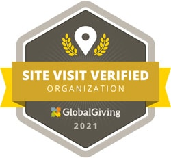 XSProject - site visit verified organization by Global Giving in 2021