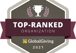XSProject - top ranked organization by Global Giving in 2021